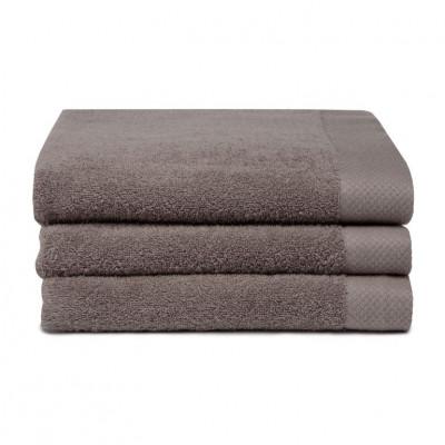 Bath Towel Pure Cement Grey | Set of 3