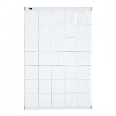 Bath Mat Grid | White