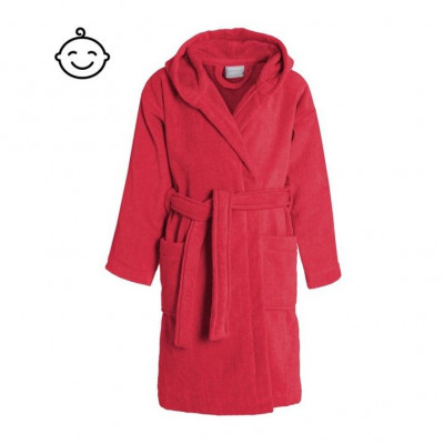 Bathrobe Pure for Kids | Red