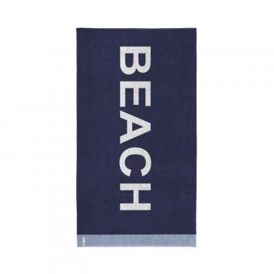Beach Towel Beach   Blue