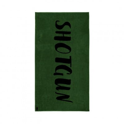 Beach Towel Shotgun   Green