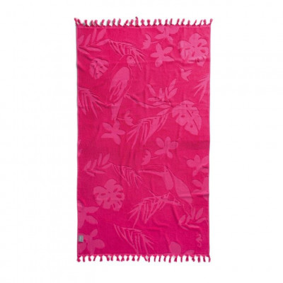 Beach Towel Hammam Tropical   Pink