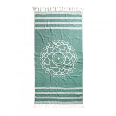 Hammam Cloth Crown   Green