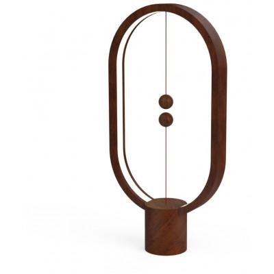 Balance Lamp Ellipse USB Brown | DesignNest Heng