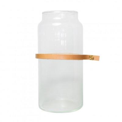 Water Glass Wrap Me Mini Brown   Ø10 x 20 cm