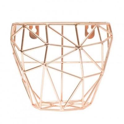 Wall Basket Thanwa L | Copper