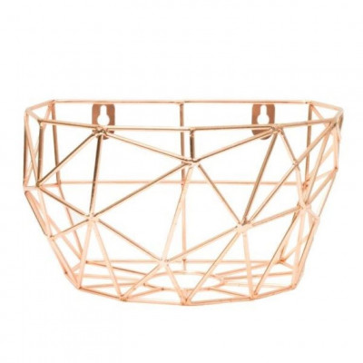 Wall Basket Thanwa M | Copper
