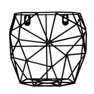Wall Basket Thanwa S | Black