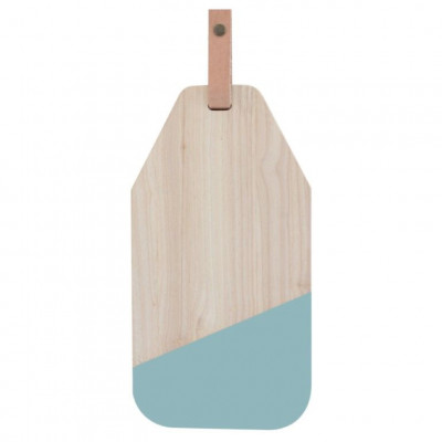 Cheese Board with Leather Limbo | Blue