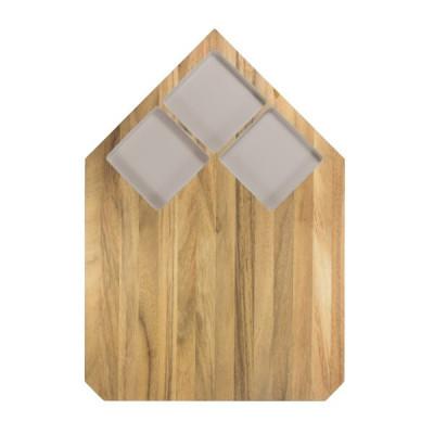 Cutting Board Pau | Grey