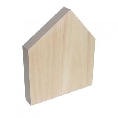 Cutting Board House Small | Warm Grey