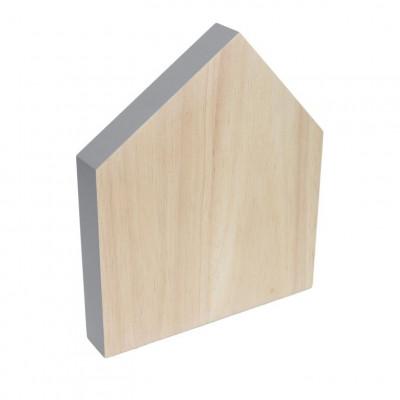 Cutting Board House Small | Grey
