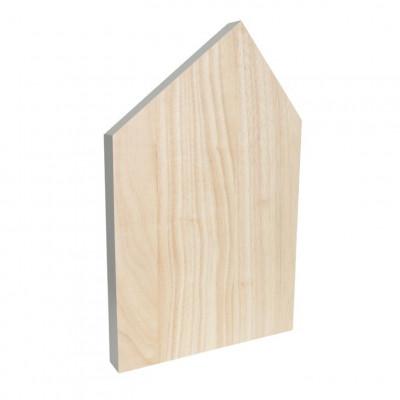 Cutting Board House Large | Grey
