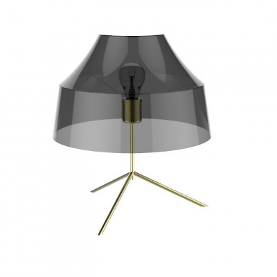 Table Lamp Mika | Black & Transparent