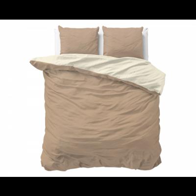 Bettbezug Twin Face   Creme / Taupe