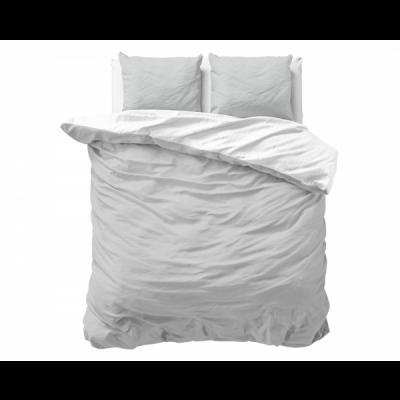 Bettbezug Twin Face   Grau / Weiß