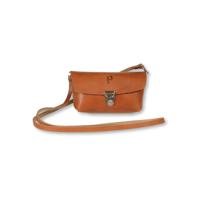 Saddle-Tasche Kate   Cognac