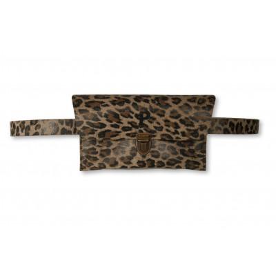Gürteltasche Kate   Leichter Leopard