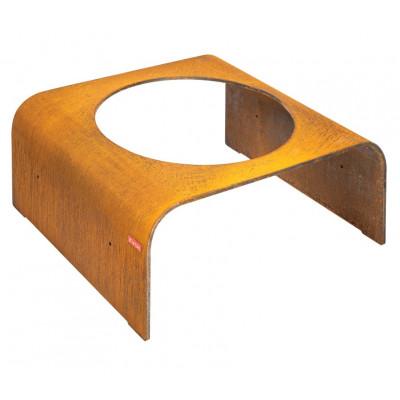 Tisch ''Column' Niedrig | Rost