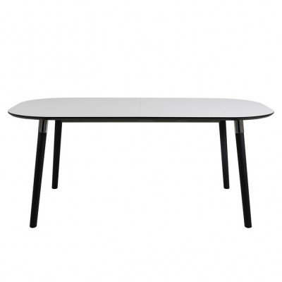 Oval Dining Table Polo 280 cm | 4 Persons | White