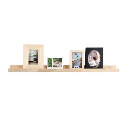 Photoframe Shelf 100 cm | Oak