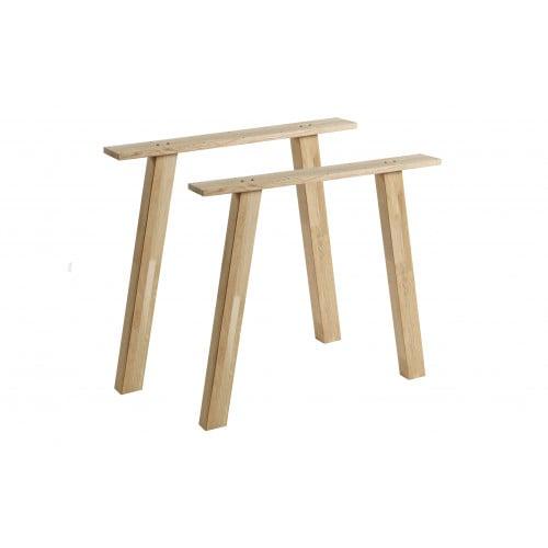 2-er Set Tischbeine Tablo | Eiche