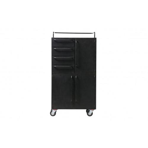 Cabinet Black Beauty | Metal | Black