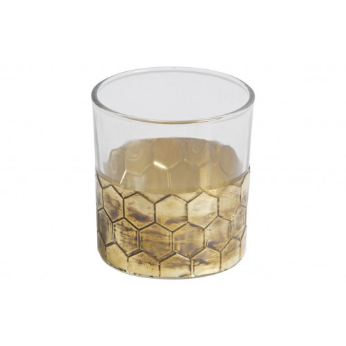 Wrap Candle Holder Medium | Gold DISCONTINUED