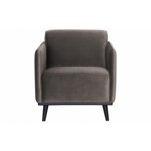 1 Seater Sofa Statement | Taupe