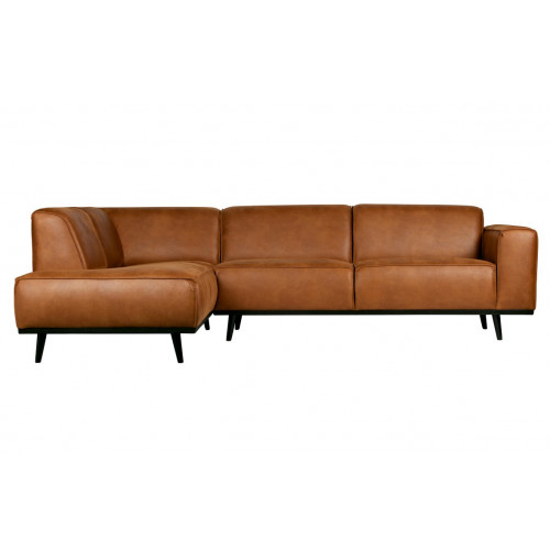 Corner Sofa Left Statement | Cognac