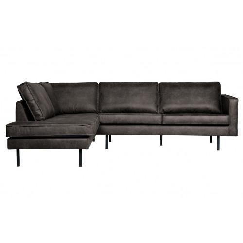 Left Corner Sofa Rodeo | Black