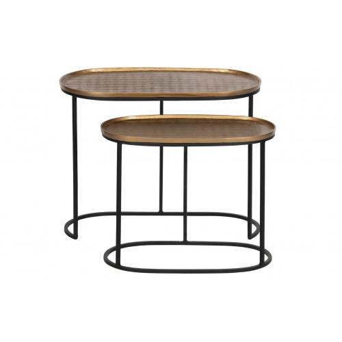 Side Tables Set of 2 Embrace