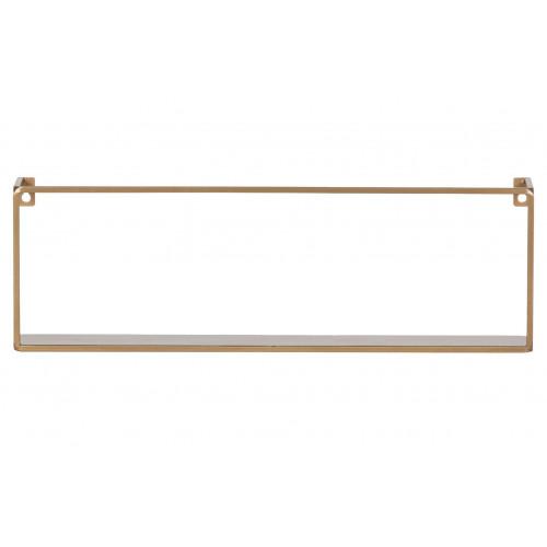 Wall Shelf Meert Gold | 50 cm