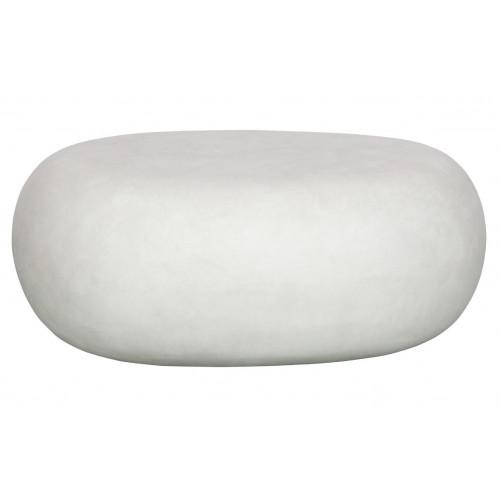 Side Table Pebble | White