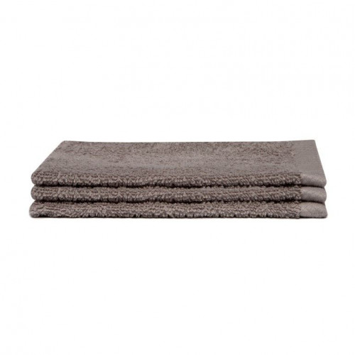 Washcloth Pure Cement Grey | Set of 3