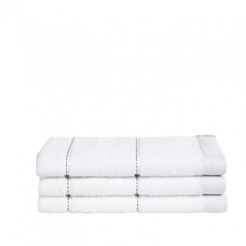 Guest Towel Grid White | Set of 3