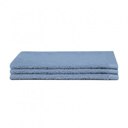 Washcloth Pure Blue | Set of 3