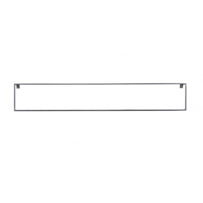 Wandregal Meert 100 cm | Schwarz