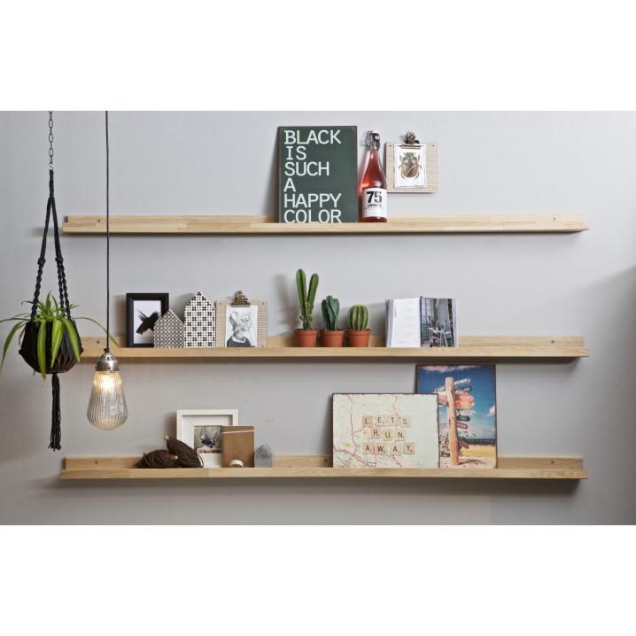 Photoframe Shelf 170 cm | Oak