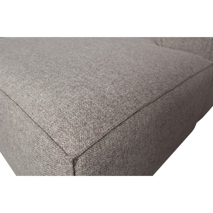 Corner Sofa Left Bean   Light Grey