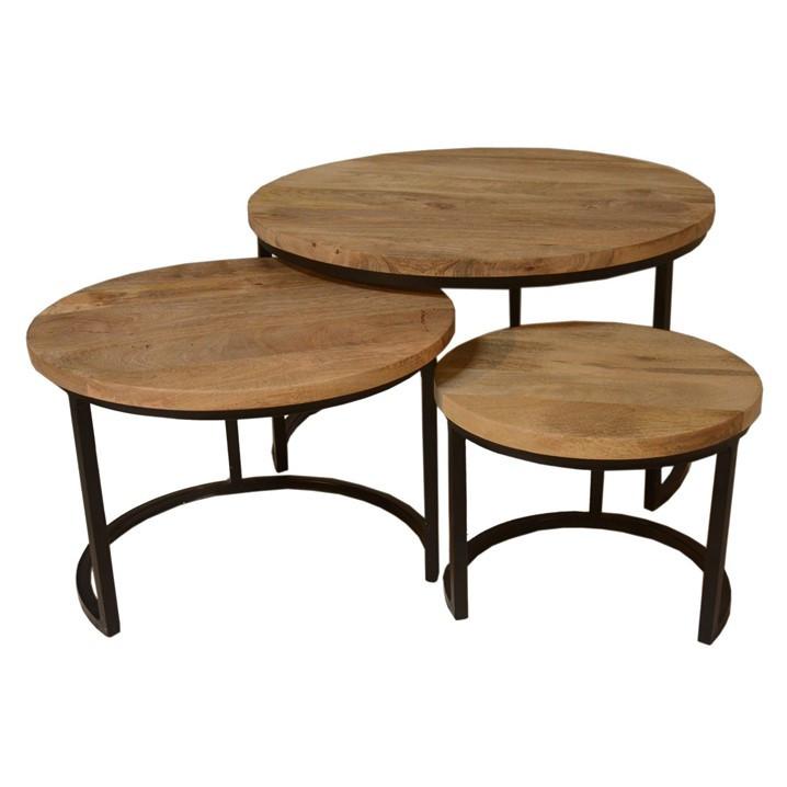 Side Table Celeste Set of 3
