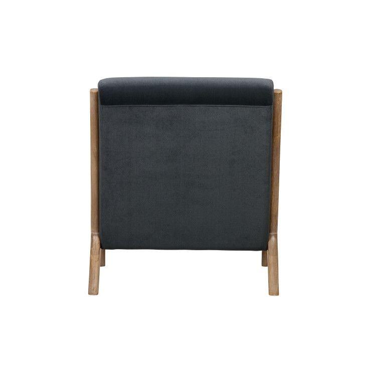 Velvet Armchair Mark | Anthracite