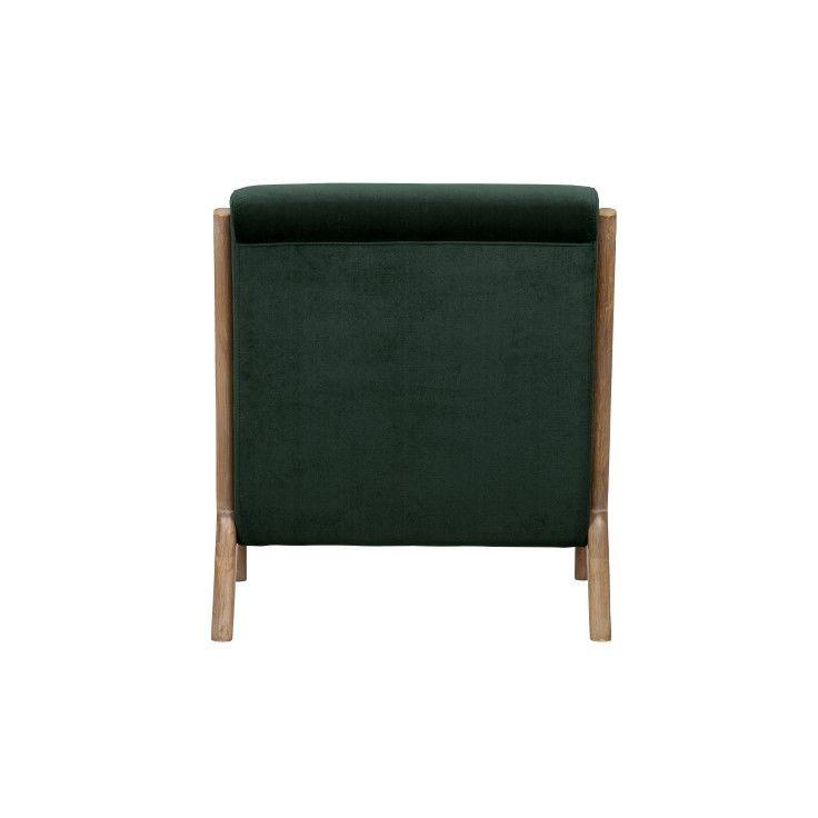 Velvet Armchair Mark | Green