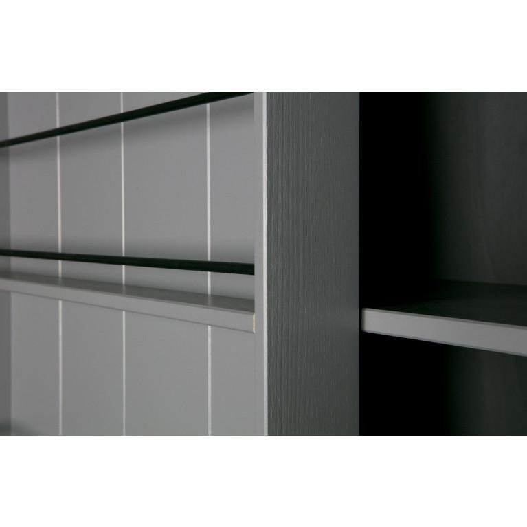 Schrank mit Schiebetür Swing | Grau