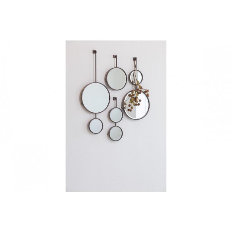 Spiegelkette Singular | Schwarz