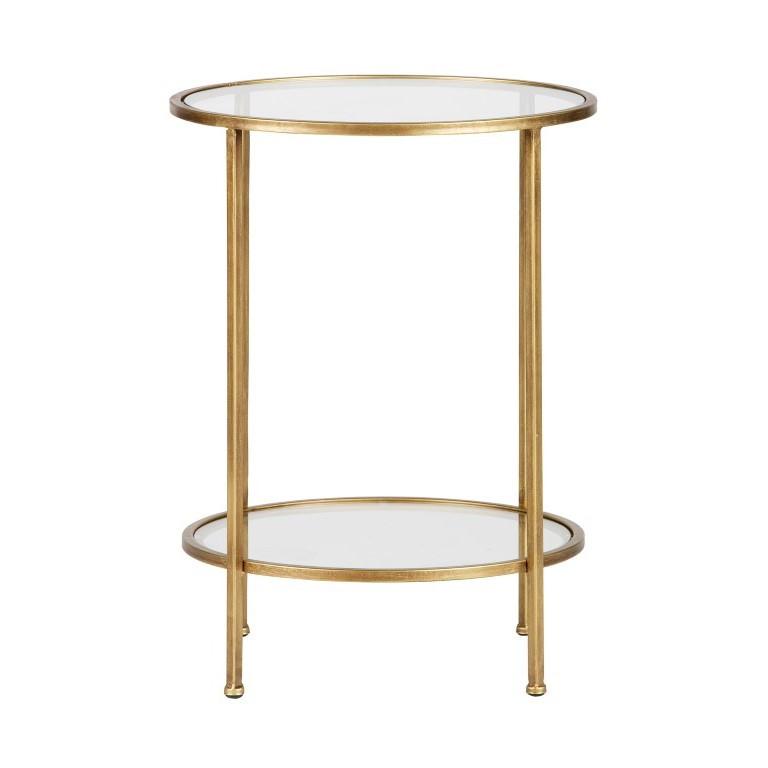 Side Table Goddess H 61 cm | Brass