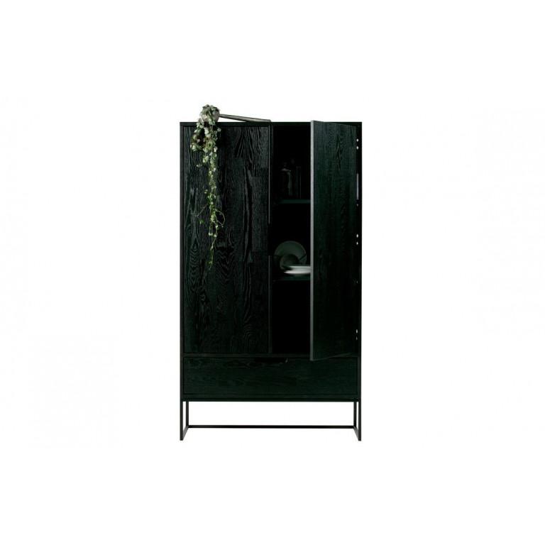 Silas Cabinet 2 Türen | Schwarz
