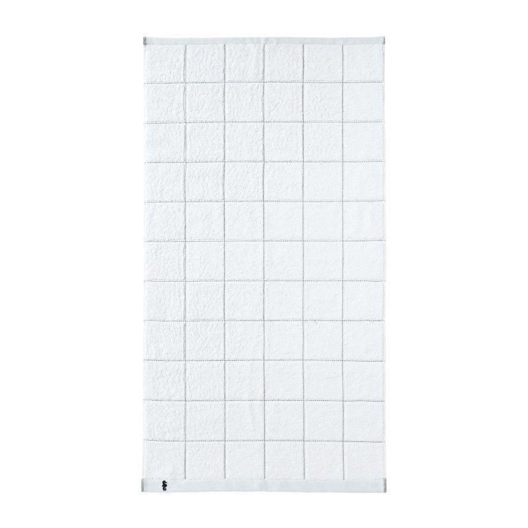 Shower Sheet Grid | White