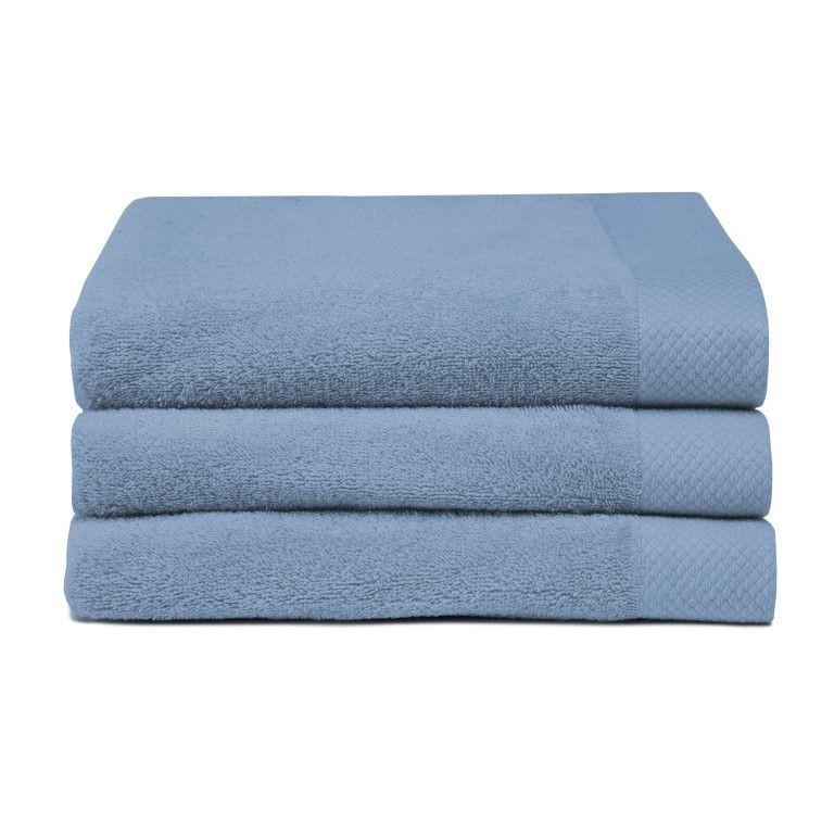 Bath Towel Pure Blue | Set of 3