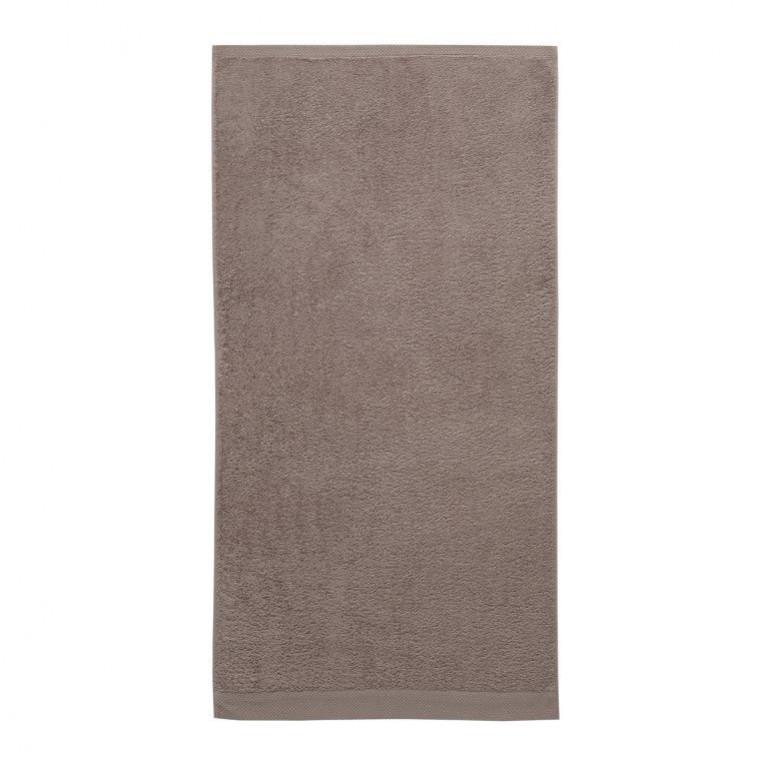 Bath Towel Pure Cement Grey   Set of 3